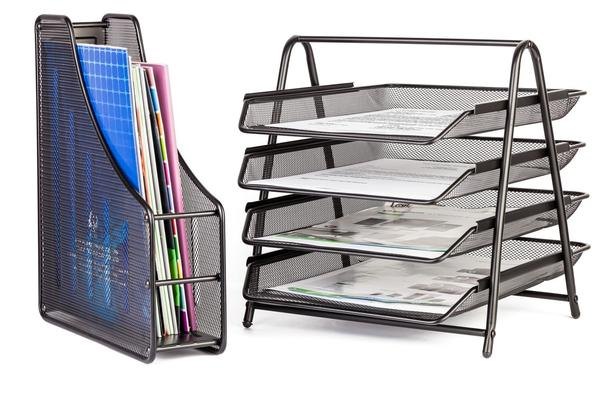 Halter 6 Piece Mesh Office Desk Set